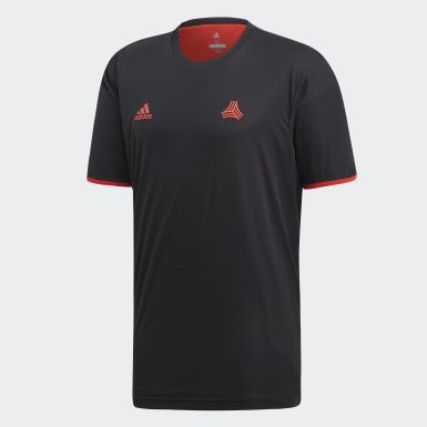 Men Football Black TAN Reversible Jersey