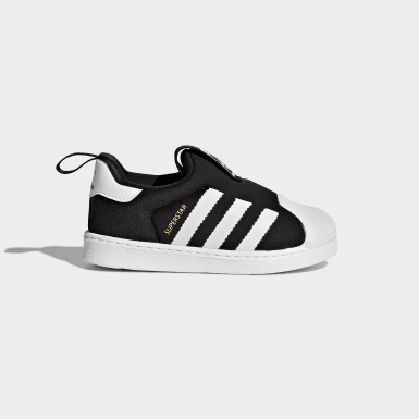 Infant & Toddler Originals Black Superstar 360 Shoes