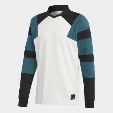 Playera EQT Football Blanco Hombre Originals