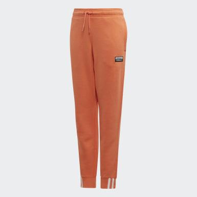 оранжевый Брюки-джоггеры