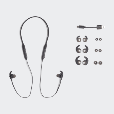 Running Black adidas RPD-01 SPORT-IN EAR Earbuds