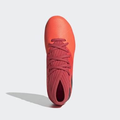 Kinder Fußball Nemeziz 19.3 IN Fußballschuh Orange