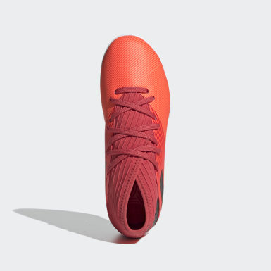 Barn Fotboll Orange Nemeziz 19.3 Indoor Boots