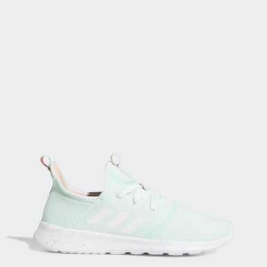 Women Running Turquoise Cloudfoam Pure Shoes