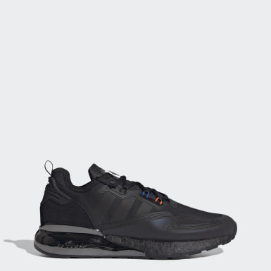 Men Originals Black ZX 2K Boost Shoes