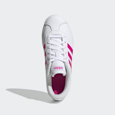 Çocuklar Sport Inspired Beyaz VL Court 2.0 Ayakkabı