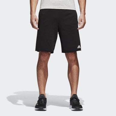 Essentials Raw-Edged Shorts