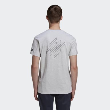 Men Originals Grey New Order x adidas SPZL Tee