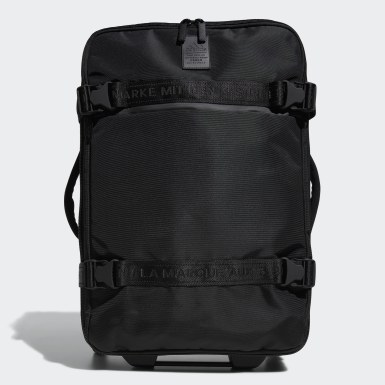 Football Black Stadium Wheeled Bag