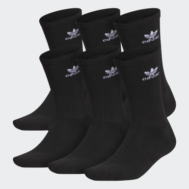 Men's Originals Black M OG Trefoil 6Pack Crew