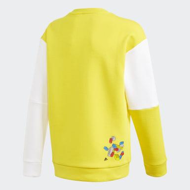 Kinderen Training Geel adidas x Classic LEGO® Bricks Sweatshirt