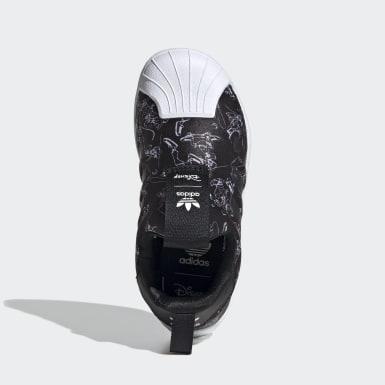 Zapatillas Superstar 360 Negro Niño Originals