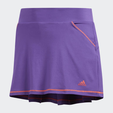 Solid Pleat Skort