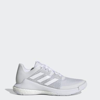 Kvinder Netball Hvid Crazyflight sko