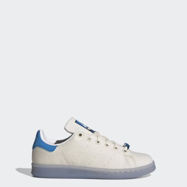 Kids Originals Grey Stan Smith Shoes