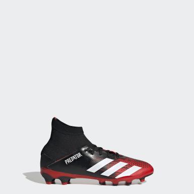 Chaussure Predator 20.3 Multi-surfaces Noir Garçons Football