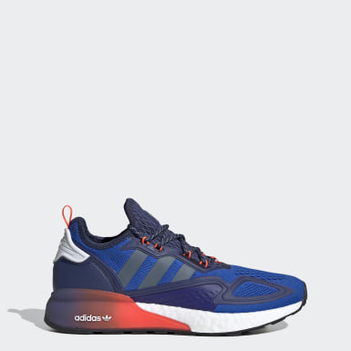 Sapatos ZX 2K Boost Azul Originals