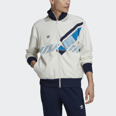 Track top Archive Tennis Bianco Uomo Originals