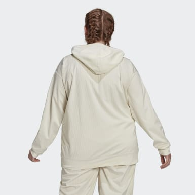 Women's Originals White Hoodie (Plus Size)