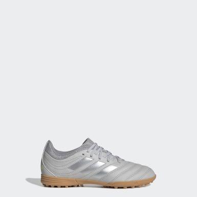 Børn Fodbold Grå Copa 20.3 Turf støvler