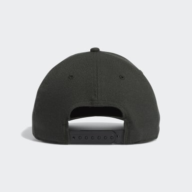 Men Golf Green Three Stripe Brand Cap