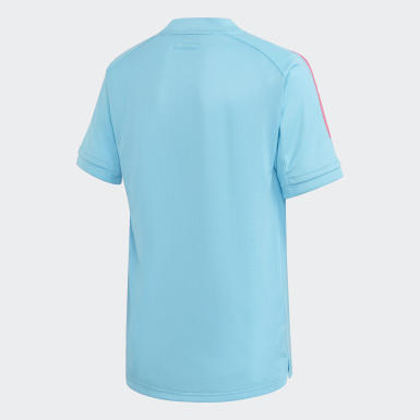 Kids Football Turquoise Real Madrid Training Jersey
