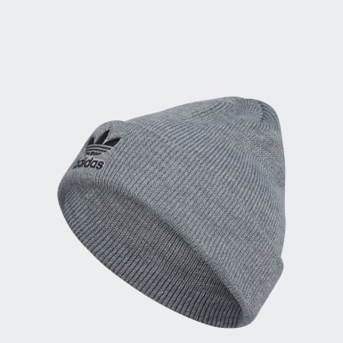 Originals Grey Trefoil Beanie