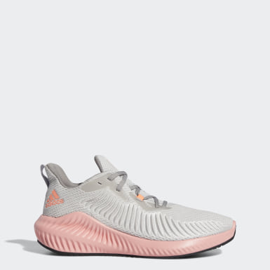 Zapatilla Alphabounce+ Gris Mujer Running