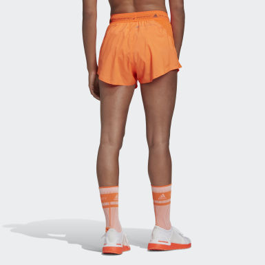 Women adidas by Stella McCartney Orange adidas by Stella McCartney TruePace Multipurpose Shorts