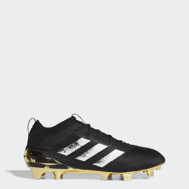 Men's Football Gold Adizero 40 Cleats