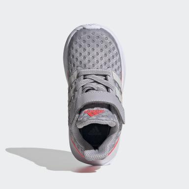 Kinder Running RapidaRun Schuh Grau
