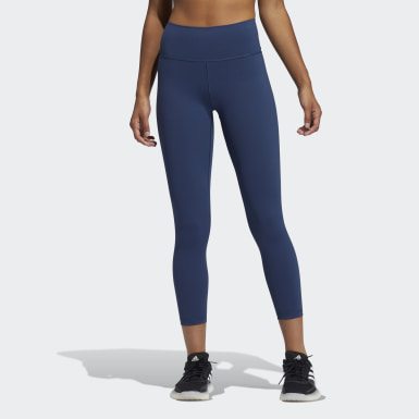 Women Training Blue Believe This 2.0 7/8 Tights