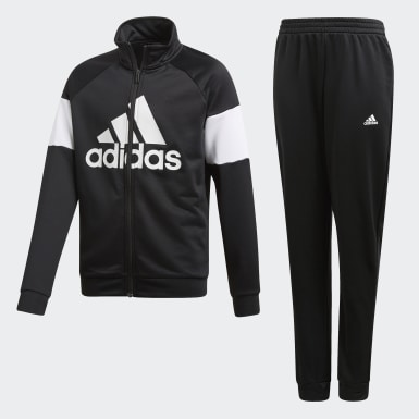 Youth 8-16 Years Training Black Badge of Sport Tracksuit