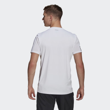 T-shirt Club Tennis 3-Stripes blanc Hommes Tennis