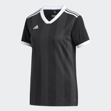 Dames Voetbal Zwart Tiro Voetbalshirt