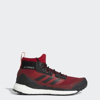 Sapatos de Caminhada Free Hiker GTX TERREX Bordô TERREX