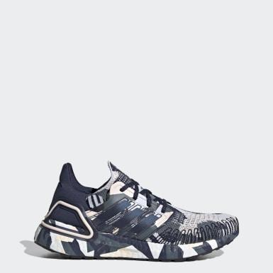 Sapatos Ultraboost 20 Azul Mulher Running