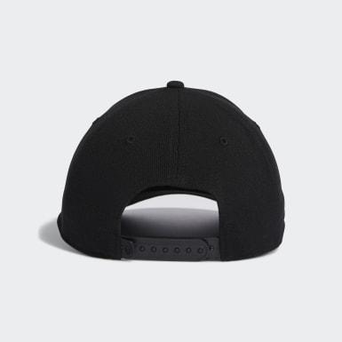 Men Golf Black Statement Hat