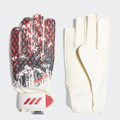 Youth 8-16 Years Football White Predator 20 Manuel Neuer Training Goalkeeper Gloves