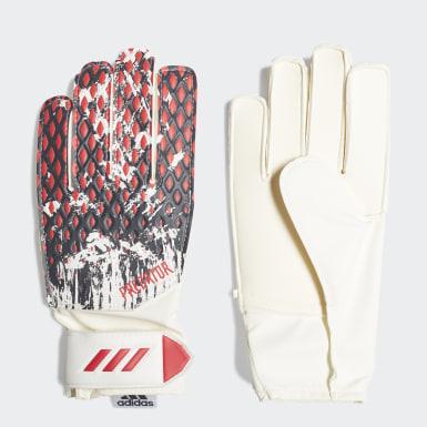 Děti Fotbal bílá Tréninkové rukavice Predator 20 Manuel Neuer