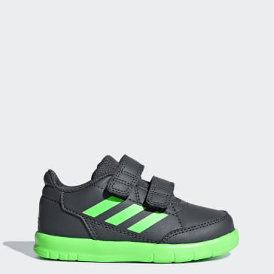 zapatillas adidas gris niña