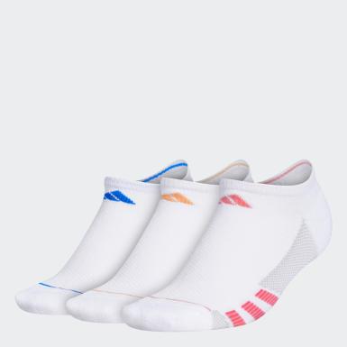 Women Training White Superlite Stripe 2 No-Show Socks 3 Pairs