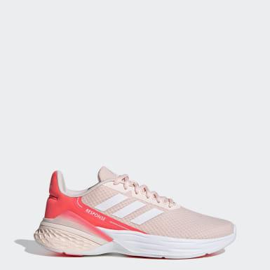 ผู้หญิง วิ่ง สีชมพู รองเท้า Response SR