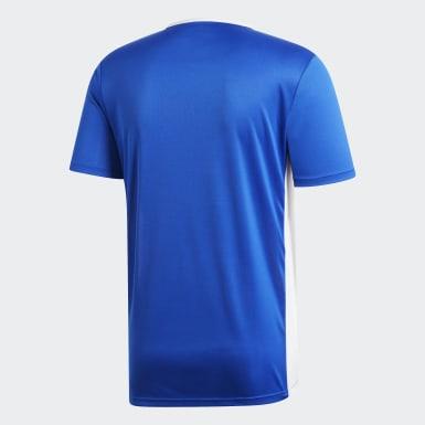 Camisa Entrada18 Azul Homem Futebol
