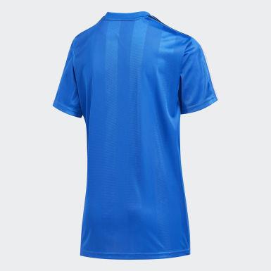T-shirt Stripe bleu Enfants Entraînement