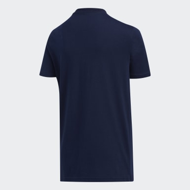 Youth Training Blue USA Tee