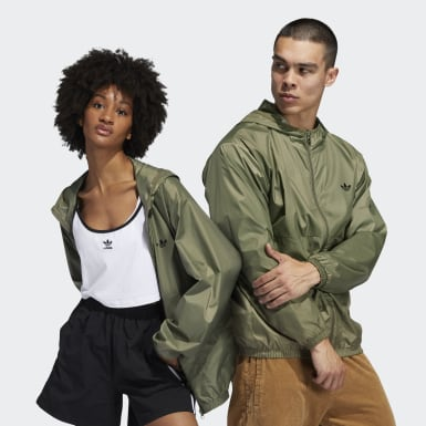 Originals Green Light Windbreaker (Gender Neutral)