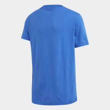 Camiseta Essentials Plain Azul Niño Training