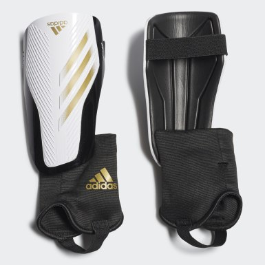 Youth 8-16 Years Football White X 20 Match Shin Guards