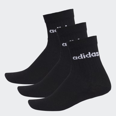 Training HC Crew Socken, 3 Paar Schwarz